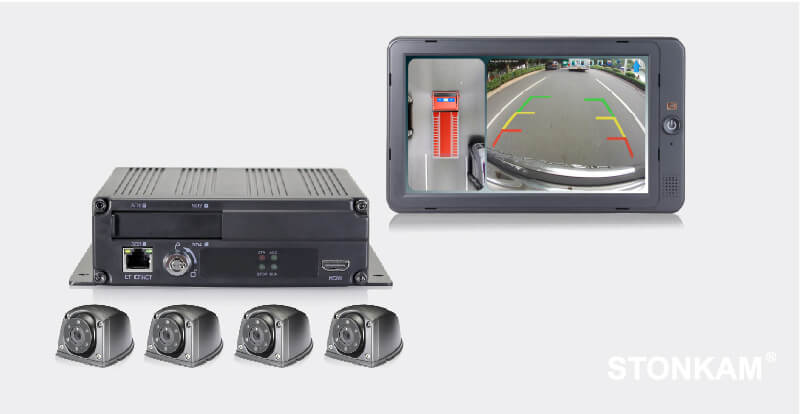 HD Sistema de 360 grado de visión para retroceso de camiones
